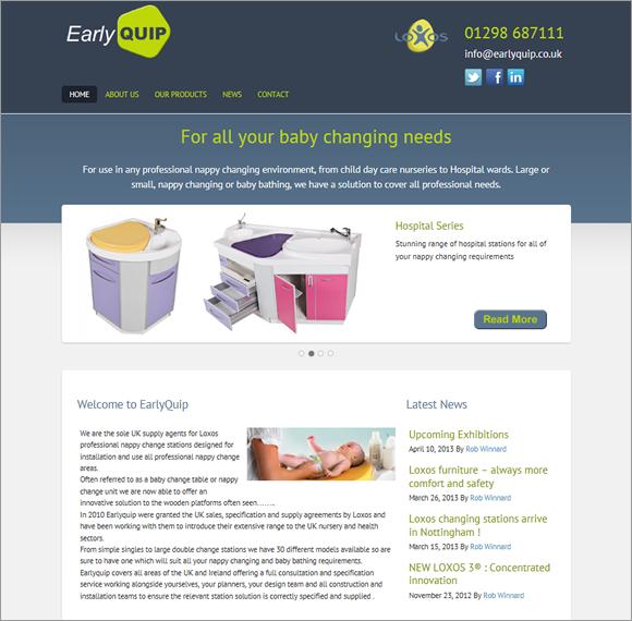 earlyquip-website