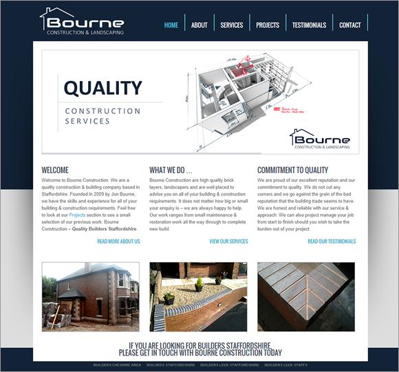bourne-website