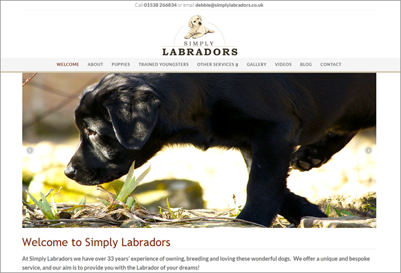 simply-labrador-website